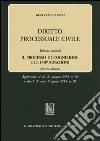 Diritto processuale civile. Vol. 2: Il processo di cognizione e le impugnazioni libro