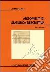 Argomenti di statistica descrittiva libro