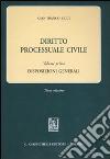 Diritto processuale civile (1) libro