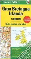 Gran Bretagna e Irlanda 1:800.000. Carta stradale e turistica libro