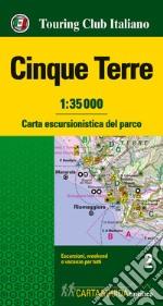 Cinque Terre  1:35.000 libro