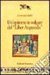 Un'epitome in volgare del «Liber augustalis» libro