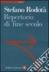 Repertorio di fine secolo libro