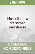 Mussolini e la resistenza palestinese libro di Fabei Stefano
