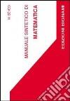 Manuale sintetico di matematica libro