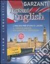 Instant english. Corso di inglese interattivo multilivello. Ediz. bilingue. Con 2 CD Audio. Con DVD-ROM libro