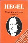 Filosofia dello spirito jenese libro