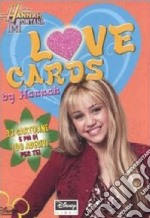 Love cards. Hannah Montana. Con adesivi