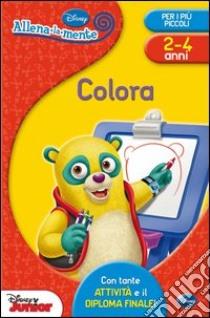 Colora. Con adesivi. Ediz. illustrata libro