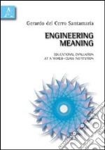 Engineering meaning. Educational evaluation at a world-class institution