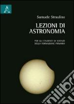 Lezioni di astronomia libro