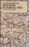 Breve notizia del regno del Thibet libro