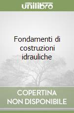 Fondamenti di costruzioni idrauliche libro di Becciu Gianfranco; Paoletti Alessandro