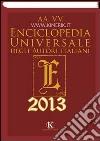 Enciclopedia universale degli autori italiani 2013 libro