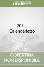 2011. Calendarietto libro