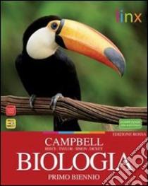 BIOLOGIA EDIZIONE ROSSA libro di CAMPBELL REECE