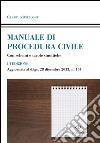 Manuale di procedura civile. Con schemi e tavole sinottiche libro
