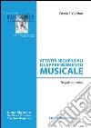 Attività sequenziali di apprendimento musicale. Registro ritmico libro
