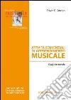 Attività sequenziali di apprendimento musicale. Registro tonale libro