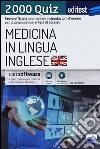 EdiTEST. Medicina in lingua inglese. 2000 quiz. Con espansione online libro