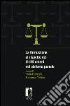 La formazione al rispetto dei diritti umani nel sistema penale libro