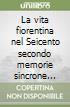 La vita fiorentina nel Seicento secondo memorie sincrone (1644-1670). (rist. anast. 1906) libro
