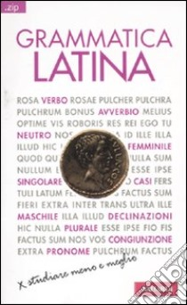 Grammatica latina libro di Terracina Francesco