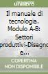 Il manuale di tecnologia. Modulo A-B: Settori produttivi-Disegno e laboratorio-Il patentino. Con tavole per il disegno. Per la Scuola media. Con espansione online libro