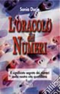 L'oracolo dei numeri libro di Ducie Sonia
