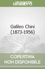 Galileo Chini (1873-1956) libro
