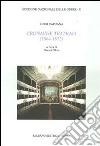 Cronache teatrali (1864-1867) libro