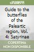 Guide to the butterflies of the Paleartic region. Vol. 4: Satyrinae libro