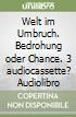 Welt im Umbruch. Bedrohung oder Chance. 3 audiocassette? Audiolibro libro
