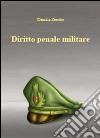 Diritto penale militare libro