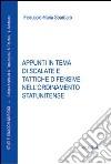 Appunti in tema di scalate e tattiche difensive nell'ordinamento statunitense libro