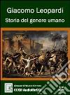 Storia del genere umano. Audiolibro. CD Audio libro
