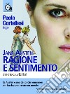 Ragione e sentimento letto da Paola Cortellesi. Audiolibro. 1 CD Audio formato MP3. Ediz. integrale