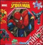 Spider-Man. Spider sense. Libro puzzle libro
