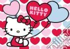 Puzzle 60 pz giant - hky hello kitty - mondo a cuori puzzle
