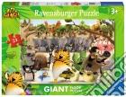 Ravensburger 05495 - Puzzle Da Pavimento 24 Pz - Vita Da Giungla - Gli Eroi Della Giungla Ti Aiutano puzzle