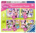 Puzzle 4 In A Box - Minnie puzzle