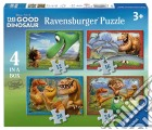Ravensburger 07143 - Puzzle 4 In A Box - The Good Dinosaur - Il Viaggio Di Arlo puzzle