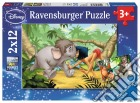 Ravensburger 07587 - Puzzle 2x12 Pz - Jungle Book puzzle