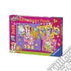 Ravensburger 09222 - Puzzle 3x49 Pz - Shopkins puzzle
