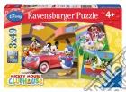 Ravensburger 09247 - Puzzle 3x49 Pz - La Casa Di Topolino puzzle