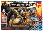 Ravensburger 09258 - Puzzle 3x49 Pz - Dragons puzzle
