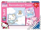 Puzzle 3x49 pz - hky hello kitty puzzle