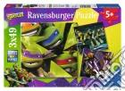 Ravensburger 09328 - Puzzle 3x49 Pz - Teenage Mutant Ninja Turtles puzzle