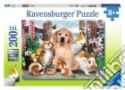 Puzzle super 200 pz - cuccioli della fattoria puzzle