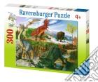 Mondo dei dinosauri puzzle